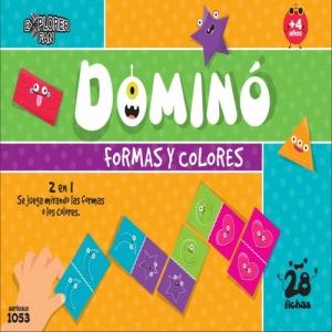 DOMINO FORMAS Y COLORES