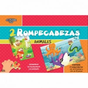 2 ROMPECABEZAS ANIMALES