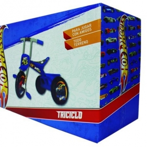 TRICICLO MAX HOT WHEELS